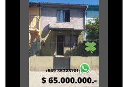Casa amplia, cerca de metro, autopista central y mercado Lo Valledor.
